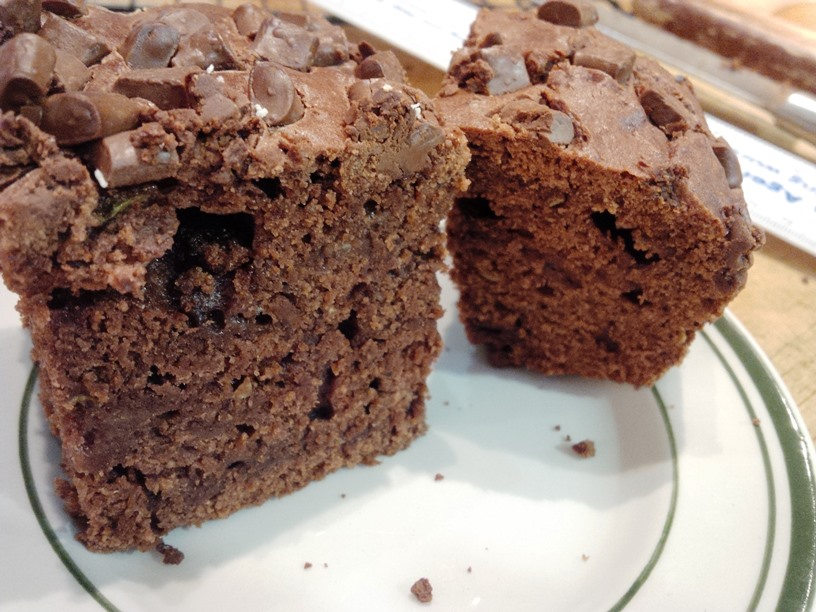 Courgette Choco Cake